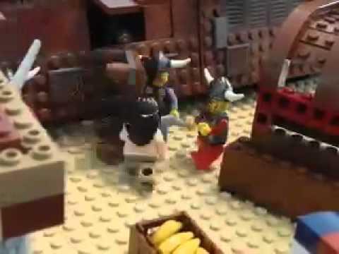 Simson - Lego Stop Motion 2