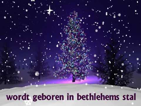 """Kerstliedje: """"Stille nacht"""" 1"""