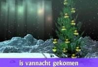 """Kerstliedje: """"Midden in de winternacht"""" 1"""