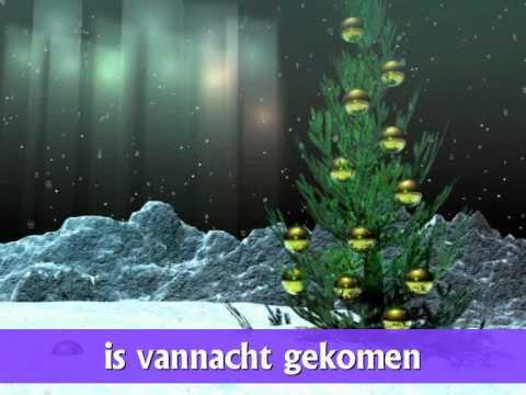 """Kerstliedje: """"Midden in de winternacht"""" 4"""