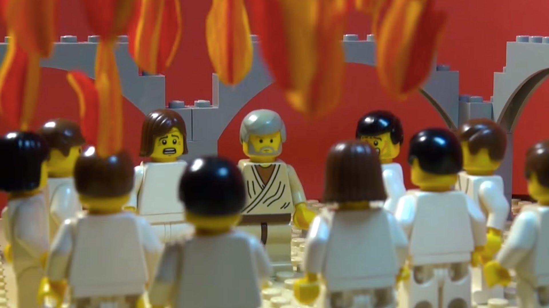 Wat is Pinksteren? Lego-verhaal 4