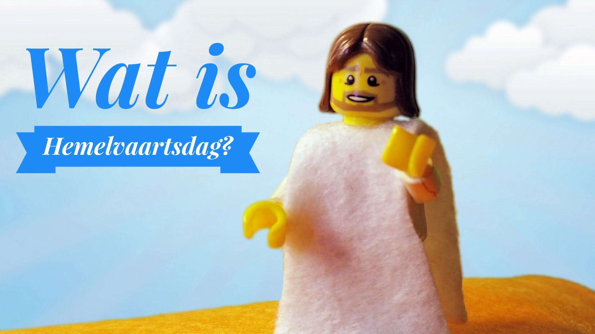 Hemelvaartsdag uitgelegd met LEGO 4
