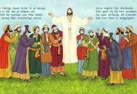 Jezus gaat naar de hemel 2