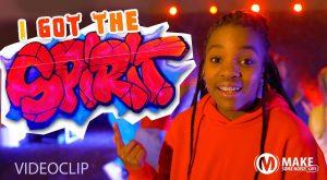 Make some noise kids- I got the spirit 3
