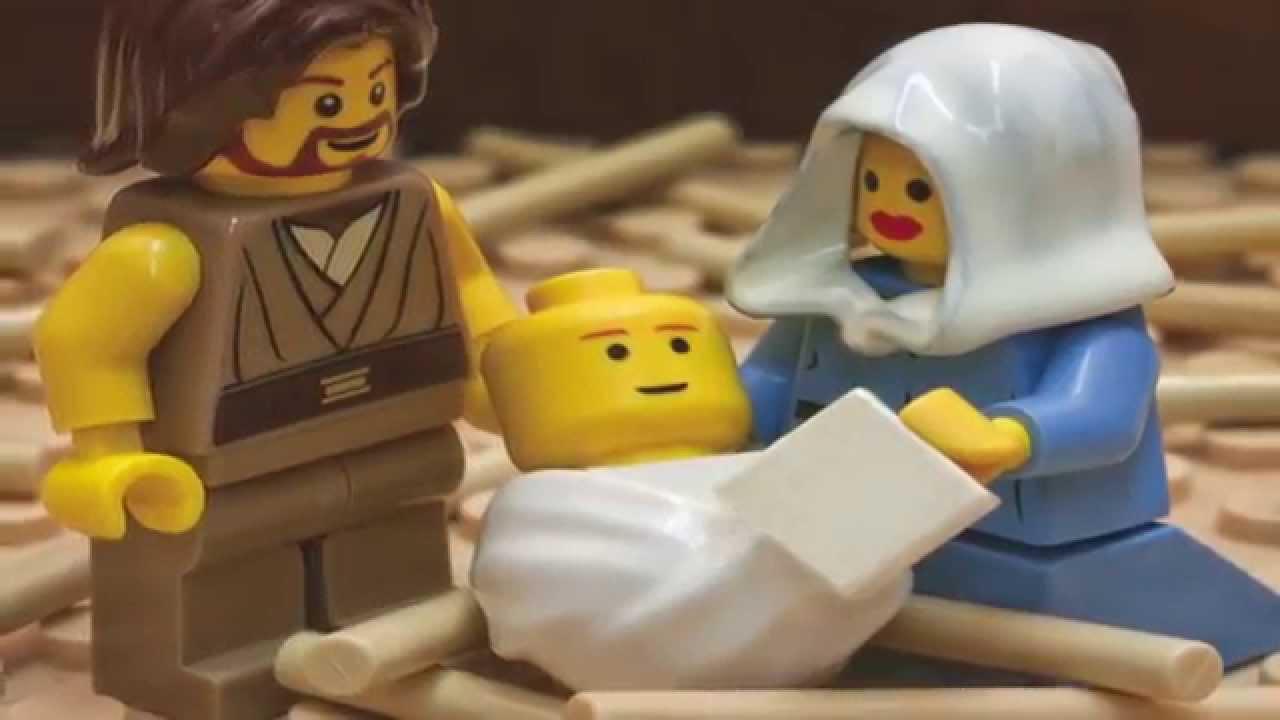 Kerstverhaal in Lego 3
